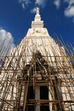 Pagoda construction in temple of thailand Stock Images
