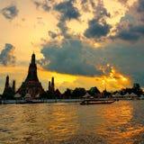 Pagoda crepuscular Foto de archivo