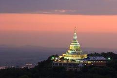 Pagoda crepuscular imagenes de archivo