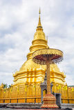 Pagoda d'or Photo stock
