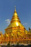Pagoda d'or Photographie stock libre de droits