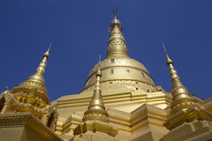 Pagoda d'Aung Setkaya - Monywa - Myanmar Photos stock