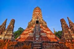 Pagoda d'Ayutthaya Photos libres de droits