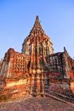 Pagoda d'Ayutthaya Photo libre de droits