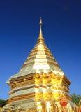 Pagoda d'or Bouddha qui Doi Suthep, chiangmai, Thaïlande Image stock