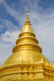 Pagoda d'or grande Photographie stock libre de droits