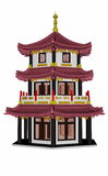Pagoda - 3D render Stock Images