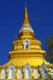 Pagoda d'or, Thaïlande Photo libre de droits