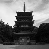 Pagoda of Daigoji Temple in Kyoto Stock Photography