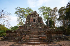 Pagoda dans Angkor Vat Images libres de droits