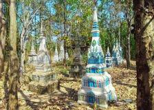 Pagoda dans la forêt Image libre de droits