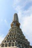 Pagoda dans le prakaew de wat Photo stock