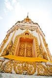 Pagoda dans le temple Images libres de droits