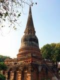 Pagoda dans le temple antique Photographie stock