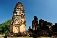 Pagoda dans Sukhothai Photo stock