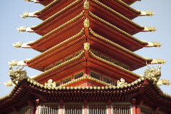 Pagoda of 7 days. In Elista Royalty Free Stock Photography