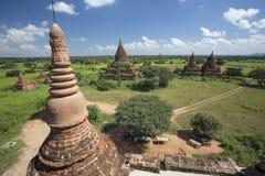Pagoda de Bagan en Myanmar Imágenes de archivo libres de regalías