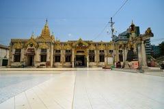 Pagoda de Botataung à Yangon Image stock