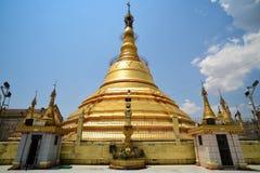 Pagoda de Botataung à Yangon Photo libre de droits