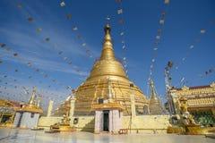 Pagoda de Botataung en Rangún, Myanmar Fotografía de archivo libre de regalías