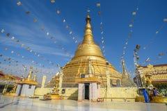 Pagoda de Botataung en Rangún, Myanmar Fotografía de archivo