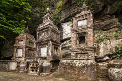 Pagoda de bouddhiste de Bich Dong Ninh Binh, Vietnam photographie stock libre de droits