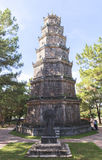 Pagoda de Celestial Lady en tonalidad, Vietnam Imagen de archivo