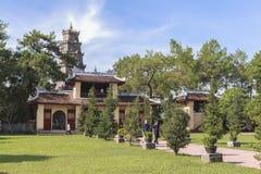 Pagoda de Celestial Lady en tonalidad, Vietnam Fotografía de archivo libre de regalías