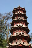 Pagoda de cheveu Photo libre de droits