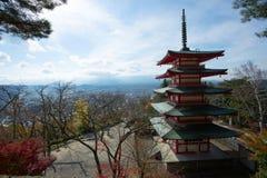 Pagoda de Chureito Photographie stock