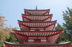 Pagoda de Chureito Fotografía de archivo