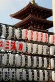 Pagoda de cinco historias foto de archivo libre de regalías