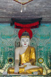 Pagoda de Daw del estómago de Shwe imagen de archivo libre de regalías