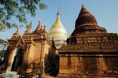 Pagoda de Dhammayazika del templo viejo en Bagan Myanmar imagen de archivo libre de regalías