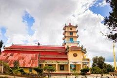 Pagoda de Dien Tho Phat Mau Da Phuoc en el lat de DA, Vietnam Fotografía de archivo