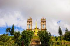 Pagoda de Dien Tho Phat Mau Da Phuoc en el lat de DA, Vietnam Imagen de archivo libre de regalías