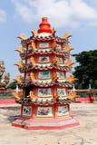 Pagoda de dragon Image libre de droits