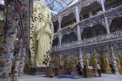 Pagoda de dragon au Vietnam Images stock