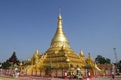 Pagoda de Eindawya, Mandalay Imagens de Stock Royalty Free