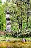 Pagoda de granit Image stock