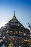Pagoda de Hariphuchai images libres de droits