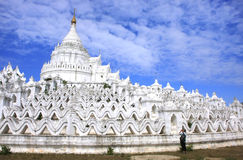 Pagoda de Hsinbyume dans Mingun, Mandalay, Myanmar photos libres de droits