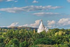 Pagoda de Hsinbyume, Mingun, région de Sagaing près de Mandalay, Myanmar Photo libre de droits