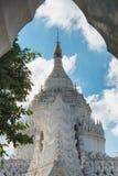 Pagoda de Hsinbyume, Mingun, région de Sagaing près de Mandalay, Myanmar Photos stock