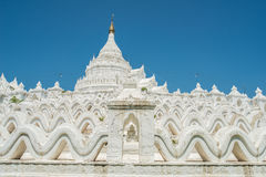 Pagoda de Hsinbyume Taj Mahal de Myanmar Imagen de archivo