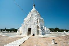 Pagoda de Hsinbyume Taj Mahal de Myanmar Imágenes de archivo libres de regalías