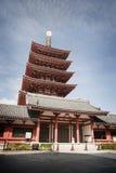 Pagoda de Japannese image stock