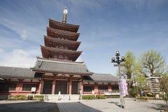 Pagoda de Japannese Imagen de archivo libre de regalías