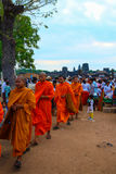 Pagoda de jour de Phcum Ben à Phnom Penh Image stock