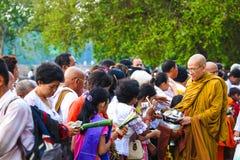 Pagoda de jour de Phcum Ben à Phnom Penh Images libres de droits
